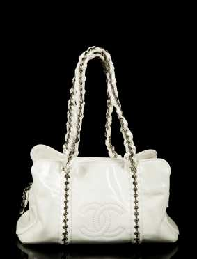 Chanel Patent Leather Handbag