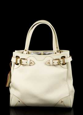 "Louis Vuitton, ""Le Majestueux Blanc"" Tote"
