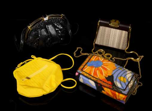 Fendi Evening Bag and Three Other Bags