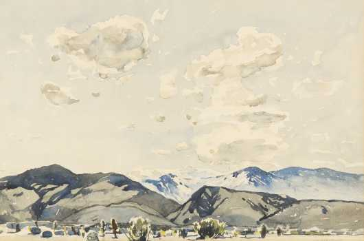 Millard Sheets, California (1907-1989)