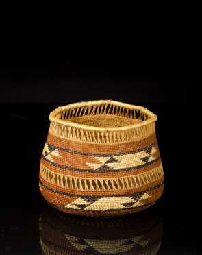 Native American Openwork Basket