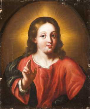 Old Master School Painting of The Christ Child