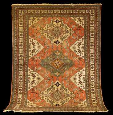 Heriz Style Room Size Oriental Rug