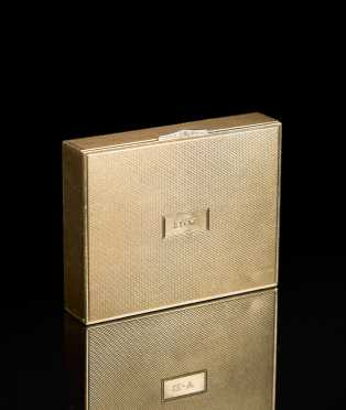 Yellow 14kt. Gold Small Valuables Box