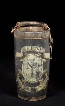 """Keene"" New Hampshire Painted Leather Fire Bucket"
