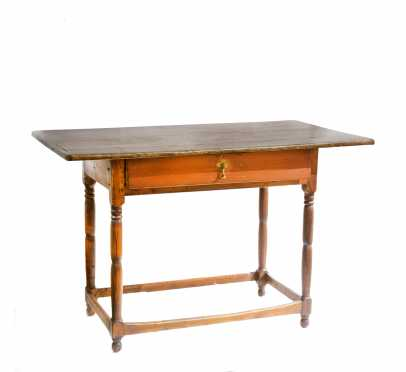 New Hampshire Stretcher Base Tavern Table