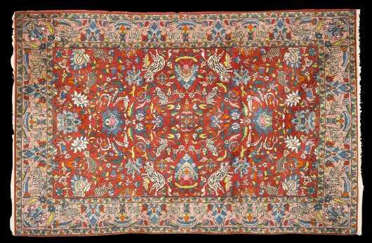 Tabriz Scatter Size Oriental Rug