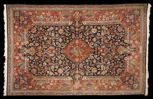 Sarouk Style Area Oriental Rug