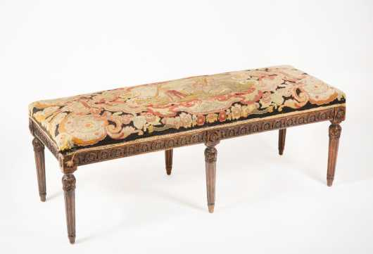 French Louis XVI Style Stool