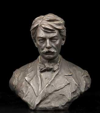 Edward MacDowell Plaster Bust