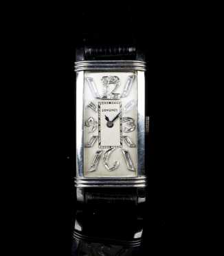 Longines Platinum and Diamond