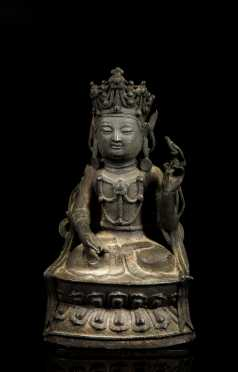 "Chinese ""Ming"" Cast Bronze Buddha ** AVAILABLE FOR $1000.00**"