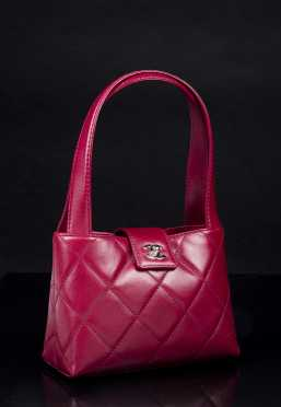 Chanel Mini Quilted Leather Handbag