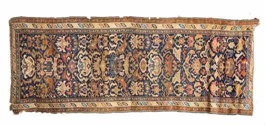 Antique Kuba Oriental Rug Runner