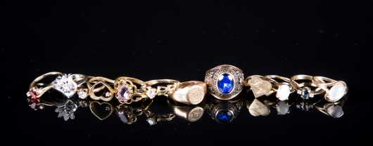 Twelve Gold Rings