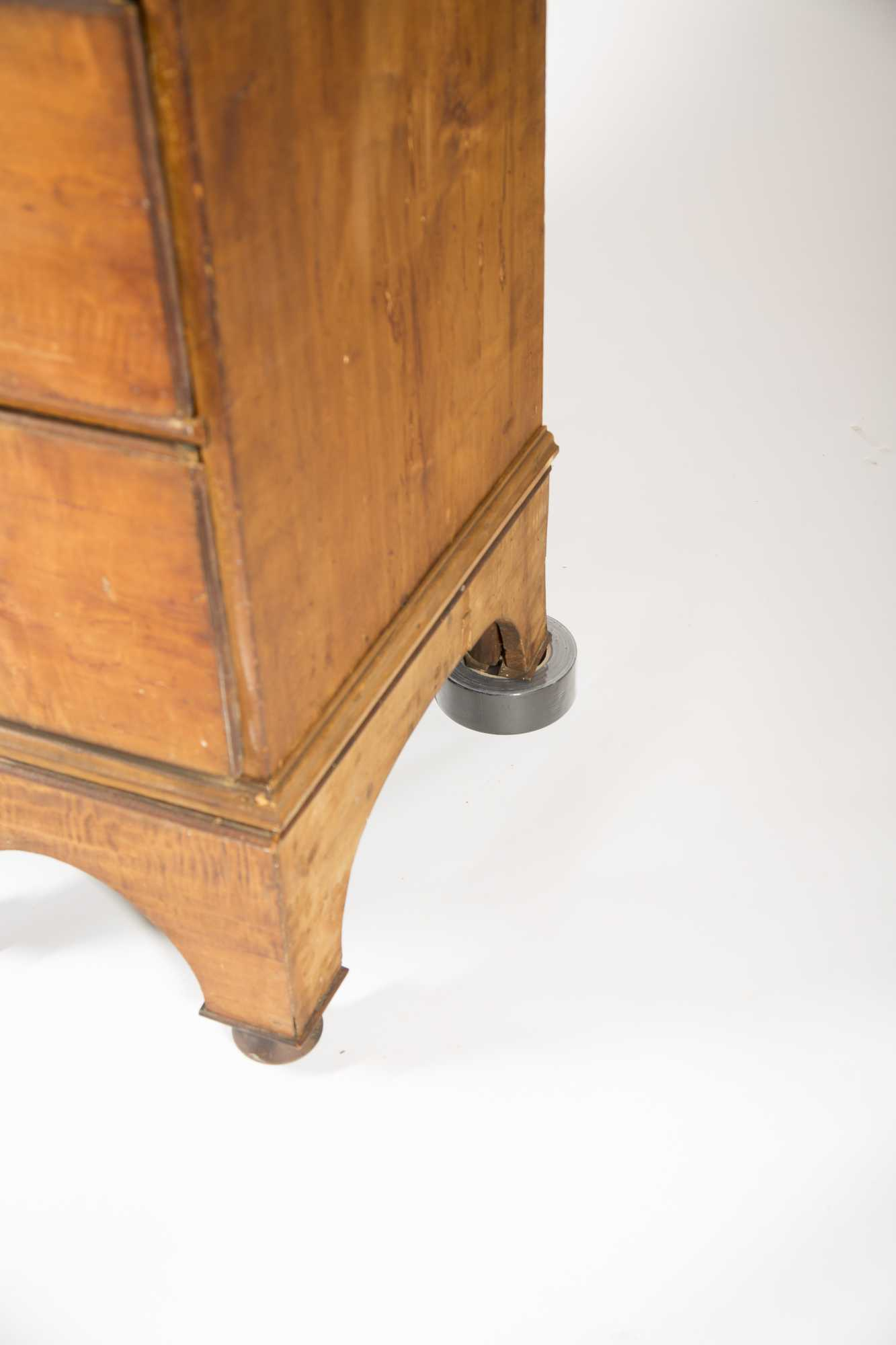 Queen Anne Maple Chest on Frame