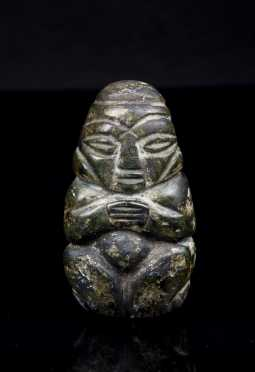 Olmec Stone Effigy Carving **AVAILABLE FOR $150.00**