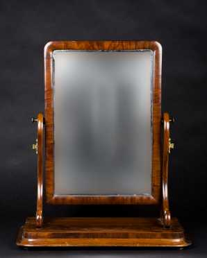 English Empire Mahogany Dressing Mirror **AVAILABLE FOR $100.00**