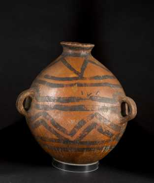 Chinese Neolithic Decorated Jar **AVAILABLE FOR $400.00**
