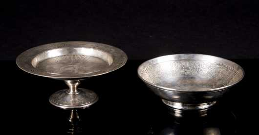 "Two ""Tiffany & Co. Makers"" Sterling Bowls"