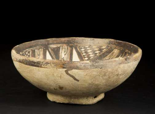 Prehistoric Southwest Native American Decorated Bowl