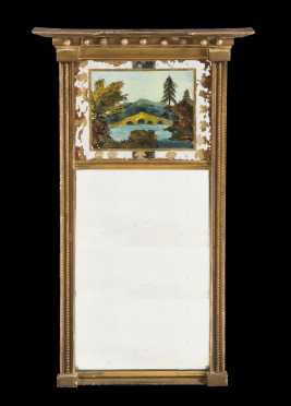 American Federal Gilt Constitution Mirror