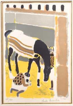 Andre Brasilier, France, b.1929