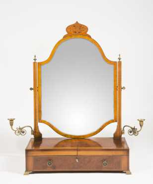 English Regency Style Dressing Mirror