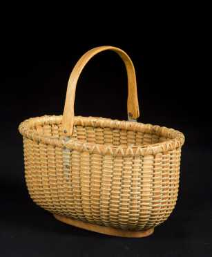 "Oval ""Nantucket"" Basket"
