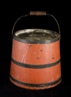 """Alfred, Maine 1862"" Shaker Lidded Bucket"