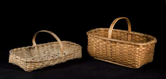 Two Enfield Shaker Basket