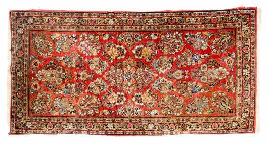 Persian Sarouk Scatter Oriental Rug