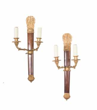 Pair of French Empire Candle Sconces