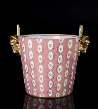 """Dresden"" Porcelain Ice Bucket"