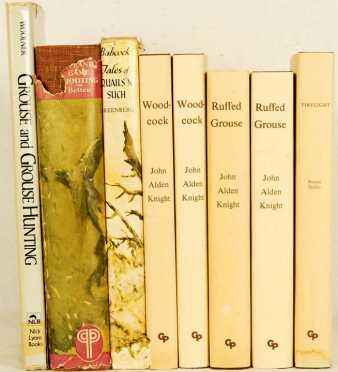 Lot Of 8 Volumes by Burton Spiller, John Alden Knight, Woolner, Greenberg and H.L. Betteh