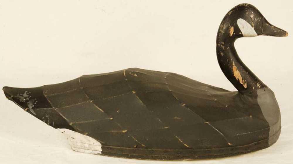 Canvas Covered Decoy Canada Goose