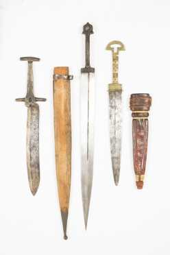Lot Of Three Ottoman Daggers