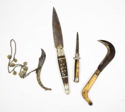 Four Switchblade Knives