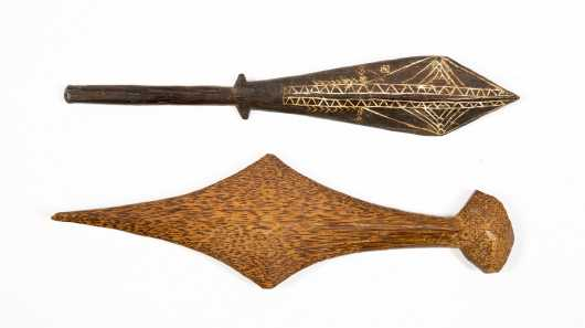 Two Hand Clubs, Solomon Islands Post WWII