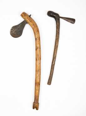 Two Primitive Islands Weapons