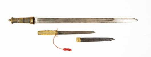 Two Chinese Edged Weapons