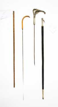 Two Sword Canes