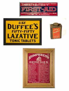 Five Human Remedies Advertising Lot