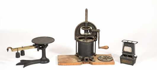 Three Cast Iron Items