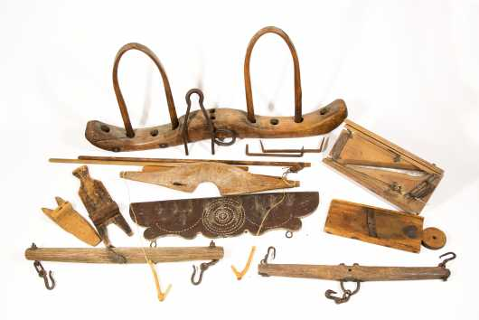 Large Lot of Farm Tools
