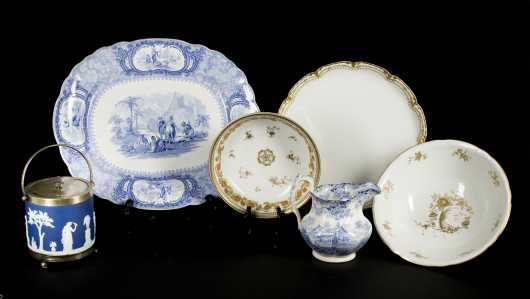 English China Lot- Minton and Wedgewood