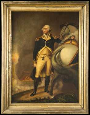 """George Washington at Dorchester Heights"" After Gilbert Stewart"