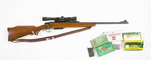 Remington Model 788 Bolt Action 6mm Rifle With Weaver Marksman 4X Scope