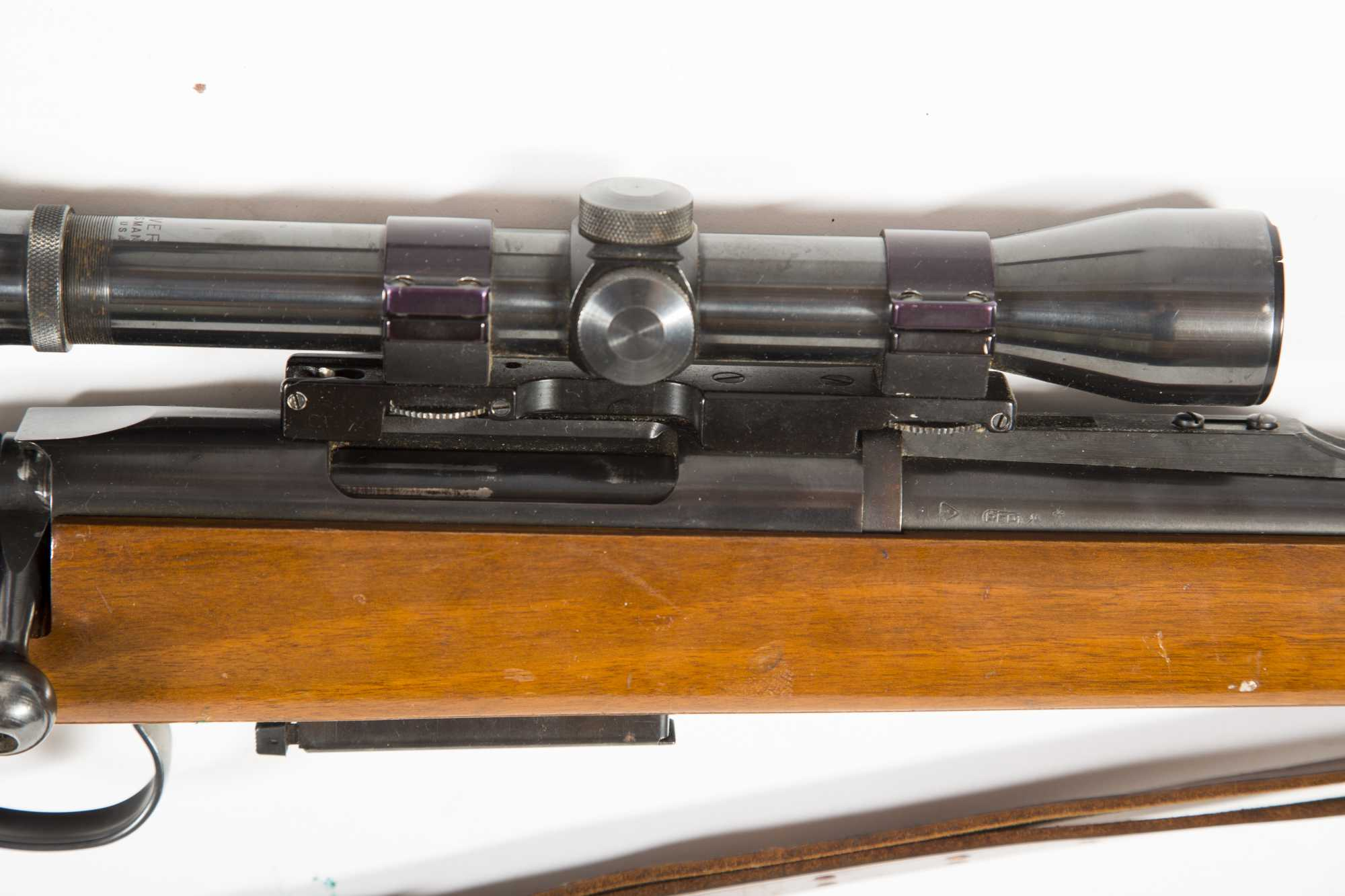 Remington Model 788 Bolt Action 6mm Rifle With Weaver