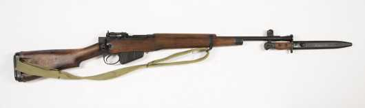 Excellent Enfield Rifle No. 5 Mk. 1 Jungle Carbine With Bayonet